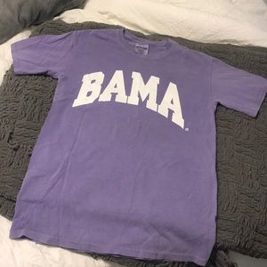 Tops - Purple Bama comfort color tee-shirt! 🐘